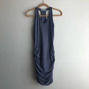 Blue Athleta tank dress
